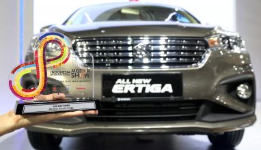 All New Ertiga Raih The Best MPV di Ajang IIMS Awards 2018