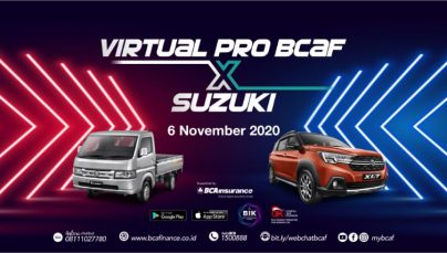 Promo Virtual BCA Finance & Suzuki